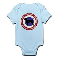 Border Terrier Bullseye Infant Bodysuit