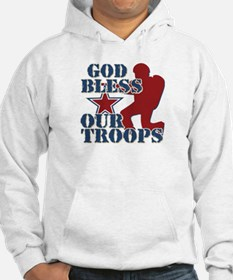 God Bless Our Troops Hoodie