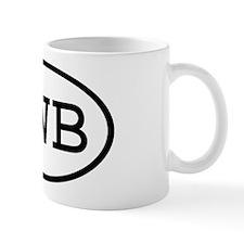 LWB Oval Mug