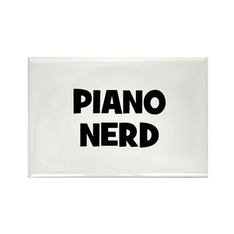 Piano nerd Rectangle Magnet