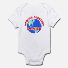 World's Greatest Sapper (F) Infant Bodysuit