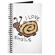 I Love Snails Journal