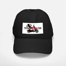 TotalRuckus.com Black Baseball Cap