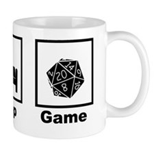 Eat, Sleep, Game Role Playing Mug