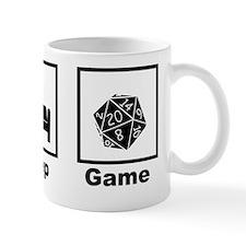 Eat, Sleep, Game Role Playing Small Mug