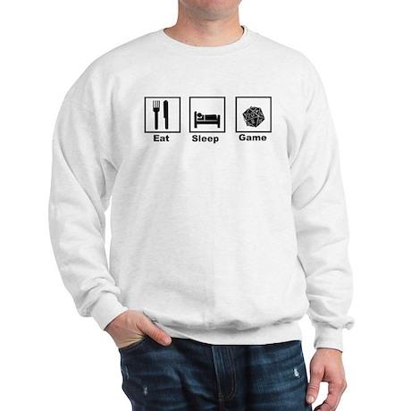 Eat, Sleep, Game Role Playing Sweatshirt