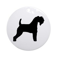 Kerry Blue Terrier Ornament (Round)