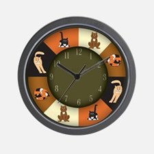 CAT LOVERS! Wall Clock