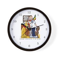 Veterinarian Art and Gifts Wall Clock