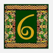 Kells Ceramic Address #6 Tile