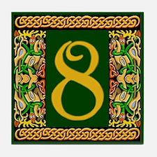 Kells Ceramic Address #8 Tile