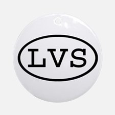 LVS Oval Ornament (Round)