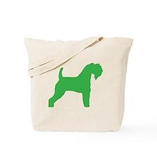 Green Kerry Blue Terrier Tote Bag