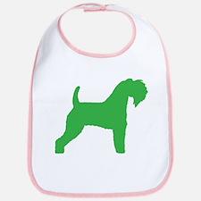 Green Kerry Blue Terrier Bib