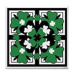 SHAMROCK DESIGN 2 Tile Coaster
