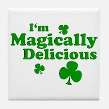 I'm Magically Delicious Tile Coaster