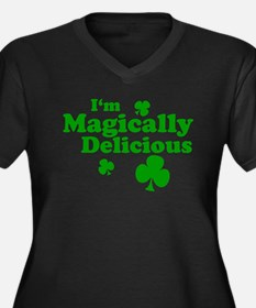 I'm Magically Delicious Women's Plus Size V-Neck D