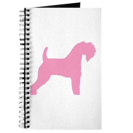 Pink Kerry Blue Terrier Journal