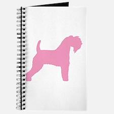 Pink Kerry Blue Terrier Journal
