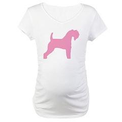 Pink Kerry Blue Terrier Shirt