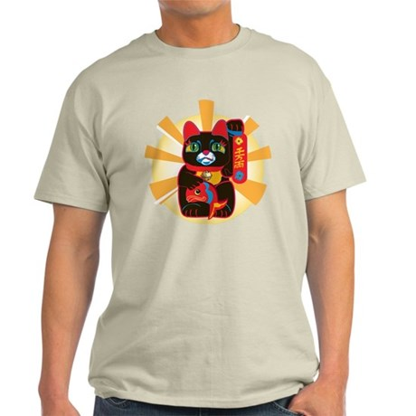 LUCKY BLACK CAT Light T-Shirt