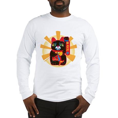 LUCKY BLACK CAT Long Sleeve T-Shirt