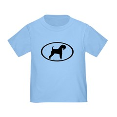 Kerry Blue Terrier Oval T