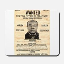 Wanted Bumpy Johnson Mousepad