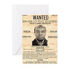 Wanted Bumpy Johnson Greeting Cards (Pk of 10)