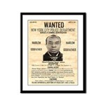 Wanted Bumpy Johnson Framed Panel Print