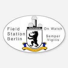 Field Station Berlin Oval Bumper Stickers