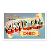 Vintage cleveland Postcards