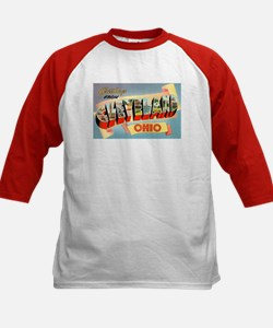 Cleveland Ohio Greetings (Front) Tee