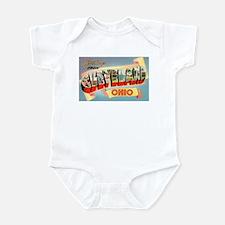 Cleveland Ohio Greetings Infant Bodysuit