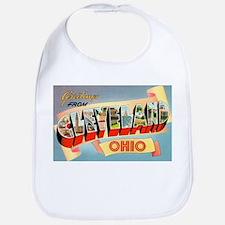 Cleveland Ohio Greetings Bib
