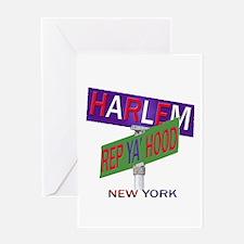 REP HARLEM Greeting Card