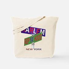 REP HARLEM Tote Bag
