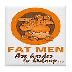 Fat Men Tile Coaster