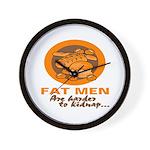 Fat Men Wall Clock