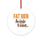 Fat Men Keepsake (Round)