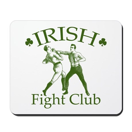 Irish Fight Club GR Mousepad