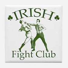 Irish Fight Club GR Tile Coaster