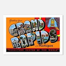 Grand Rapids Michigan Greetings Postcards (Package