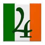 Flag of Éire Ceramic Address #4 Tile