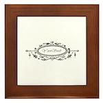 Yarn Crafts - Yarn Snob Framed Tile