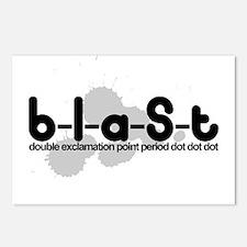 Blast!!. ... Postcards (Package of 8)