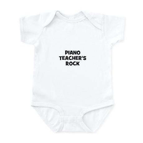Piano teacher's rock Infant Bodysuit