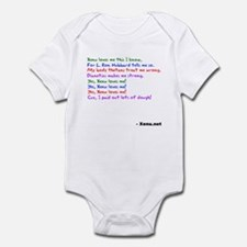 Xenu Loves Me! Infant Bodysuit