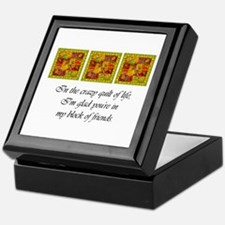 Friends - Crazy Quilt Keepsake Box