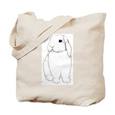 Lop Rabbit Tote Bag